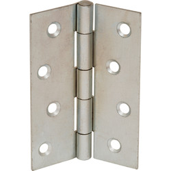 Zinc Plated Butt Hinge 75mm - 27386 - from Toolstation