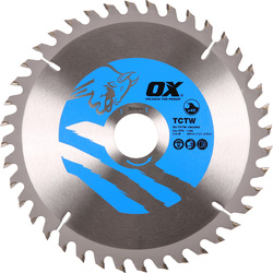 OX OX TCT Circular Saw Blade 184 x 30 x 28T - 27484 - from Toolstation