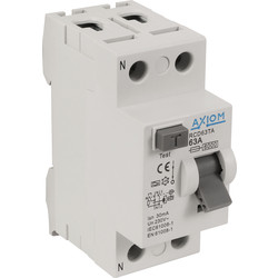 Axiom Axiom RCD A Type RCD 63A 30mA - 27512 - from Toolstation