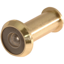 Unbranded Door Viewer Brass - 27568 - from Toolstation