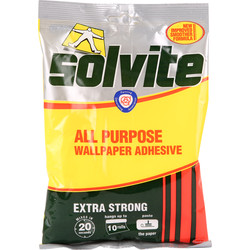 Solvite Solvite All Purpose Wallpaper Adhesive 10 Roll - 27571 - from Toolstation