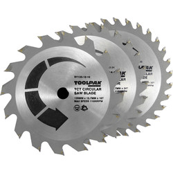 Toolpak Toolpak TCT Circular Saw Blades 135 x 12.7mm - 27580 - from Toolstation