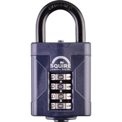 Squire Squire Combination Weatherproof Padlock 50 x 8 x 26mm - 27581 - from Toolstation