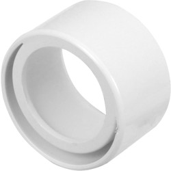 Aquaflow Solvent Weld Reducer 50 x 40mm White - 27594 - from Toolstation