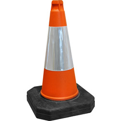 Melba Swintex Melba Swintex Thermoplastic Traffic Cone 500mm - 27649 - from Toolstation