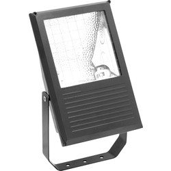 Slimline Metal Halide Floodlight Black 70W - 27660 - from Toolstation