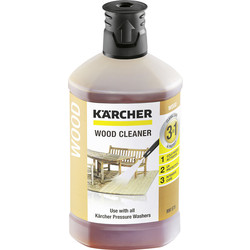Karcher Karcher 3-in-1 Wood Cleaner Detergent 1L - 27829 - from Toolstation