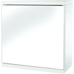 Croydex Single Door MDF Bathroom Cabinet 300 x 300 x 140mm