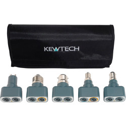 Kewtech Kewtech Lightmates Lighting Circuit Test Adaptors 242 x 86 x 44mm - 27886 - from Toolstation