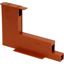Micro Wall / Weep Ventilator Terracotta - 27926 - from Toolstation