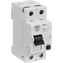 MK MK Incomers 80A 30mA RCD - 27954 - from Toolstation