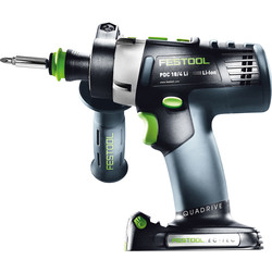 Festool Festool PDC 18/4 18V Li-Ion Cordless Combi Drill Body Only - 27964 - from Toolstation