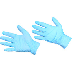 Powder Free Nitrile Disposable Gloves Large - 27972 - from Toolstation