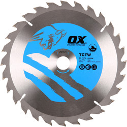 OX OX TCT Circular Saw Blade 190 x 20 x 28T - 28025 - from Toolstation