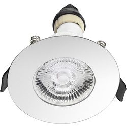 Integral LED Evofire IP65 Fire Rated Downlight Polished Chrome