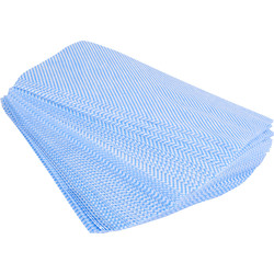 Maxipro Cleaning Cloths Blue - 28194 - from Toolstation