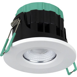 Robus Robus Ultimum 7W IP65 WiFi Fire Rated Downlight 7W 540-630lm - 28216 - from Toolstation