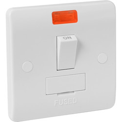 Scolmore Click Click Mode 13A Fused Spur Switched Neon - 28230 - from Toolstation