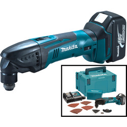 Makita Makita DTM50RM1J1 18V LXT Cordless Multi Tool 1 x 4.0Ah - 28240 - from Toolstation