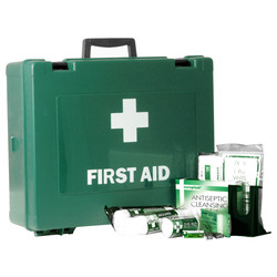 HSE Compliant First Aid Kit Large 1 - 50 People - 28245 - from Toolstation