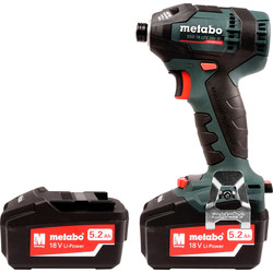 Metabo Metabo SSD 18 LTX 200 BL 18V Brushless Impact Driver 2 x 5.2Ah - 28321 - from Toolstation