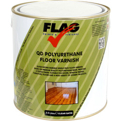 Quick Drying PU Floor Varnish 2.5L