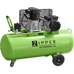 Zipper Zipper COM200 200L 3.0 HP Pro Workshop Air Compressor - 10 bar 230V - 28343 - from Toolstation