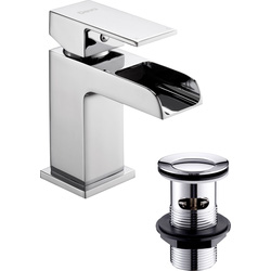 Deva Deva Waterfall Taps Basin Mixer - 28384 - from Toolstation