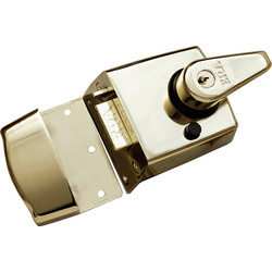 ERA ERA BS High Security Nightlatch Brass Standard - 28386 - from Toolstation