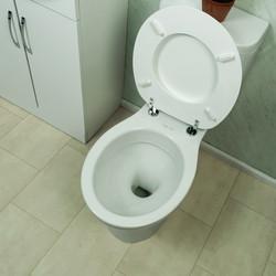 Ebb + Flo Moulded Wood Standard Close Toilet Seat