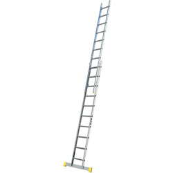 Lyte Ladders Lyte Trade Extension Ladder 2 section, Closed Length 2.92m - 28574 - from Toolstation