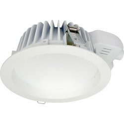 LED Downlight 13W Cool White 1077lm 80° - 28618 - from Toolstation
