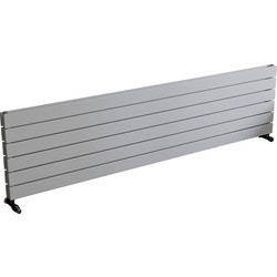 Ximax Ximax Oxford Duo Horizontal Designer Radiator 445 x 1800mm 4539Btu White - 28621 - from Toolstation