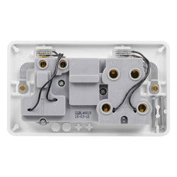 Schneider Electric Lisse 45A DP Cooker Switch and Socket