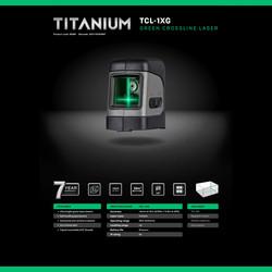 General Titanium TCL-1XG Cross Line Laser