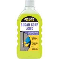 Everbuild Sugar Soap Liquid 500ml - 28874 - from Toolstation