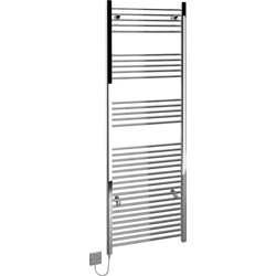 Kudox Electric Straight Chrome Towel Radiator 1800 x 600mm 240V