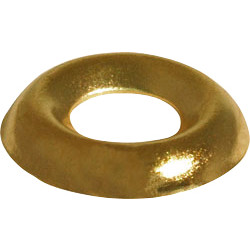 Screw Cup Solid Brass No. 8