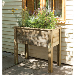 Forest Forest Garden Bamburgh Planter Table 87cm (h) x 100cm (w) x 50cm (d) - 29078 - from Toolstation