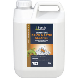 Bostik Bostik Cementone Brick & Patio Cleaner 5L - 29118 - from Toolstation