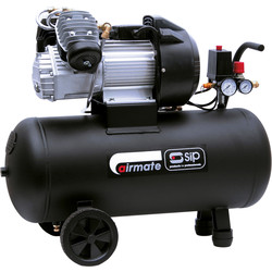 SIP SIP 06242 TN 3/50-D Oil Lubricated 50L 3HP Compressor 230V - 29124 - from Toolstation