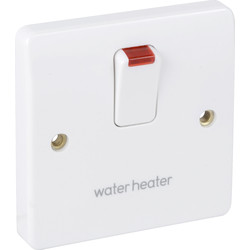 MK MK 20A DP Switch Neon Water Heater - 29181 - from Toolstation
