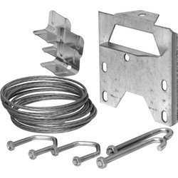TV Aerial Fixing Kit Chimney - 29194 - from Toolstation