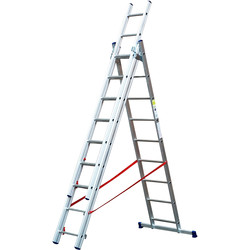 TB Davies TB Davies LD Combination Ladder 2.6m - 29207 - from Toolstation