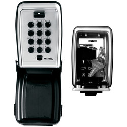 Master Lock Master Lock Combination Key Safe Medium Push Button 79 x 117 x 52mm - 29266 - from Toolstation