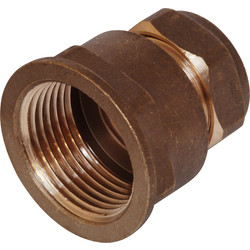 "Compression Coupler Female 15mm x 1/2""  - 29289 - from Toolstation"