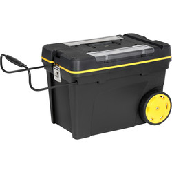 Stanley Stanley Pro Mobile Tool Chest With Tote 613 x 419 x 375mm - 29302 - from Toolstation