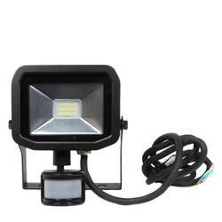 Luceco LED IP44 PIR Slimline Guardian Floodlight