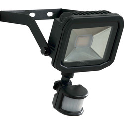 Luceco Luceco LED IP44 PIR Slimline Guardian Floodlight 15W PIR 1200lm - 29343 - from Toolstation