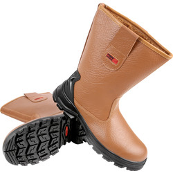 Safety Rigger Boots Size 9 Tan